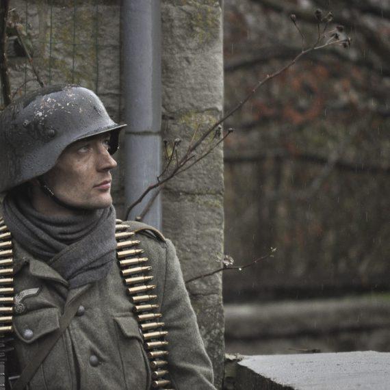Reenactment Bastogne 2012-2013 by florence Raskin