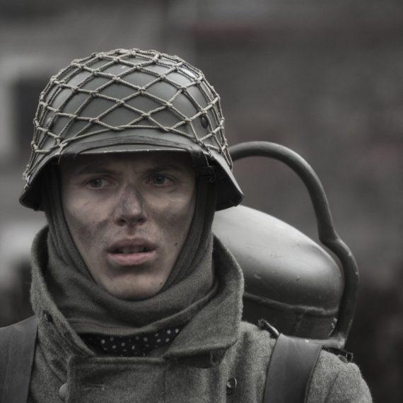 Reenactment Bastogne 2014-2013 by florence Raskin