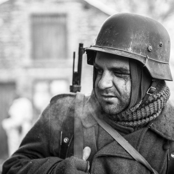 Reenactment Bastogne 2014 by Florence Raskin