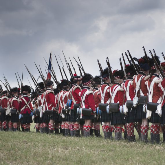 Reenactment Waterloo 2015 by Florence Raskin