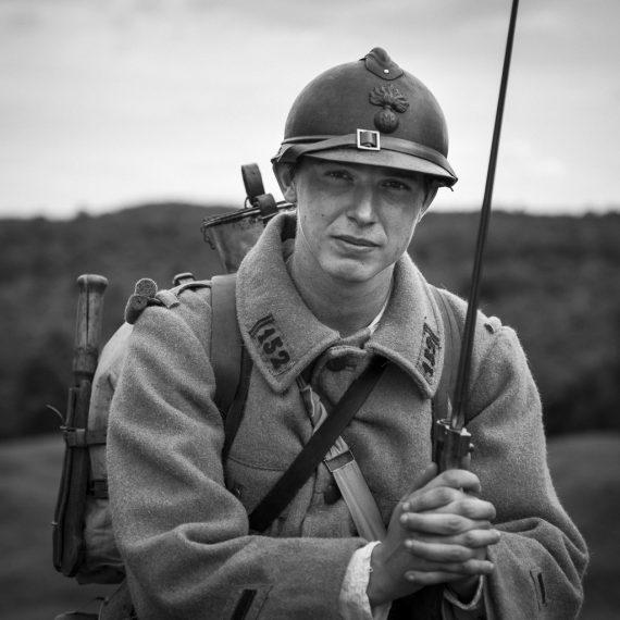 Reenactment Verdun 2016 by Florence Raskin